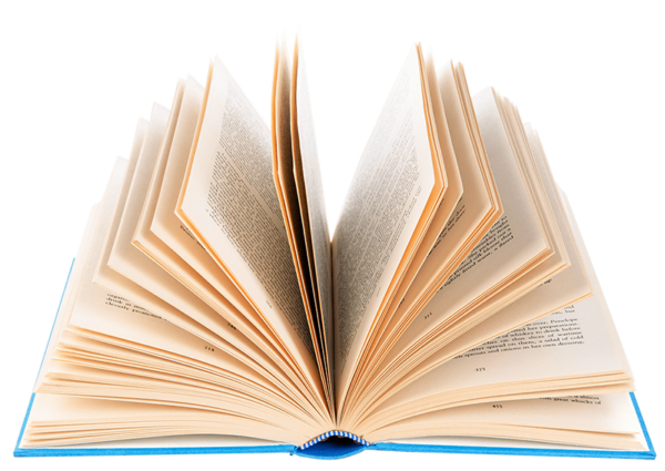 Buch freigestellt